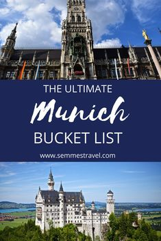 Munich Bucket List from semmestravel.com