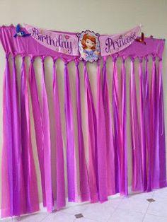 Ideas para tu Fiesta: Fiesta Princesa Sofia                              …