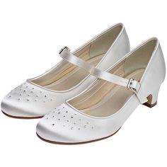 f5a02bce59ef Verity by Rainbow Club Ivory Satin Crystal Shoes
