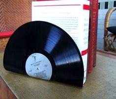 ideas para reciclar discos de vinilo - Vivir Creativamente