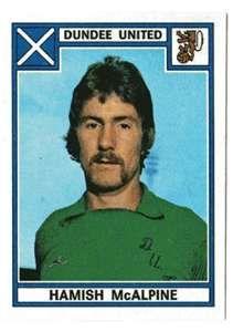 HAMISH McALPINE Dundee United legend