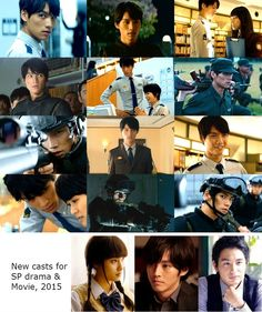 "Junichi Okada, Nana Eikura, Kei Tanaka, Sota Fukushi. J Movie ""Library Wars -THE LAST MISSION-"". Release: 10/10/2015.     New casts for SP drama n this movie: Tori Matsuzaka, Aoi Nakamura, Tao Tsuchiya     ""Library Wars"", 2013. Plot & movie: http://www.drama.net/library-wars-2013"