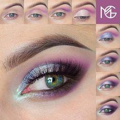Multicolor Eye Shadow For Fresh Spring Look