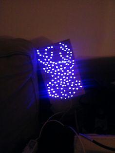 Jouw fantasie, een potlood, led lichtjes, een doos. Dat is alles wat je nodig hebt om een eigen sfeerlamp te maken. Have fun!