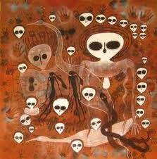 aboriginal cave art   Rare Australian Aboriginal Cave and Rock ...