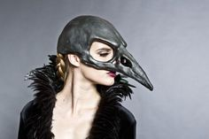 bird mask black - Google Search