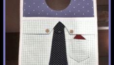 Tutorial, DIY, Passo à Passo Lixeira para Carro Masculina 3. - Vivartesanato Baby Boy Gowns, Baby Gown, Tutorial Diy, Couture, Boy Or Girl, Invisible Part Weave, Fabric Necklace, Patron Couture
