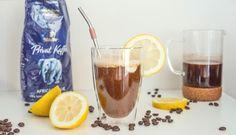 Osvěžující experiment s kávou: citronové cold brew Cold Brew, Brewing, Alcoholic Drinks, Coffee Maker, Experiment, Glass, Food, Lemon, Coffee Maker Machine