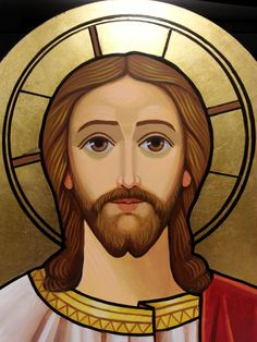 Our Lord Jesus Christ Coptic icon