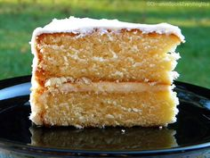 Old-Fashioned Yellow Cake  (adapted from McCall's Book of Cakes and Pies)  2 cups all-purpose flour, sifted  1 + 1/4 cup sugar  1 tablespoon baking powder  1 teaspoon salt  1/2 cup butter, softened  1 cup milk  1 teaspoon vanilla extract  2 eggs