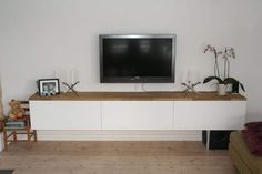 Floating tv stand diy More
