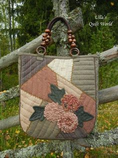 A pattern for this quilt bag is in a Japanese Patchwork book: ISBN 978-4-391-14049-1 These photos below are from this ...