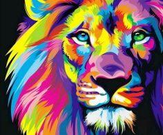 Lion illustration #graphicdesign
