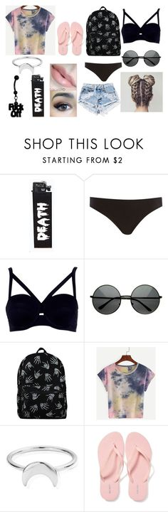 """""""Good Day// Nappy Roots"""" by justanotherhawksfan on Polyvore featuring Korres, River Island, ChloBo and Old Navy"""