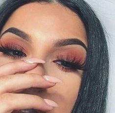 Love Makeup, Glam Makeup, Unique Makeup, Matte Makeup, Makeup On Fleek, Simple Eye Makeup, Flawless Makeup, Natural Eye Makeup, Pretty Makeup