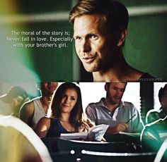 Alaric summing up the entire TVD series in one sentence