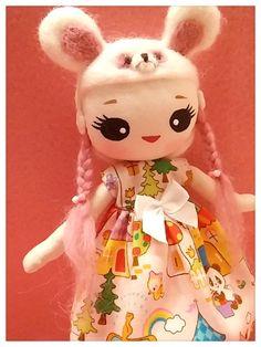Japanese Vintage Pose Doll, Big Eyes Dolly, Panda girl, She is Helena