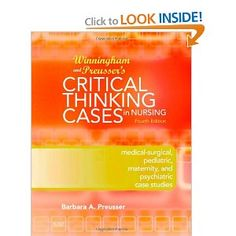 nursing health assessment critical thinking case studies