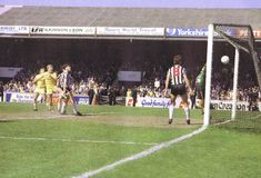 Grimsby Town 0 Chelsea 1 May 1984 at Blundell Park. Kerry Dixon scores to give Chelsea the Division title. Chelsea Football, Chelsea Fc, Grimsby Town Fc, Stamford Bridge, Cycling, Champion, Memories, Scores