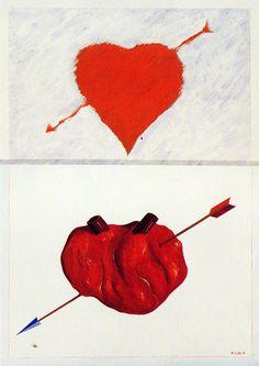 """saint Sebastian  """"two hearts"""""""