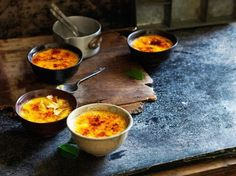 Creme Brulee Recipe with Kaffir Lime and Lemongrass - This creme brulee recipe by Luke Nguyen is a twist on an old favourite