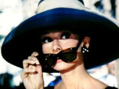 Society Social Suggestion: Why don't you pretend to be famous? Oversize sunnies + an oversize hat!