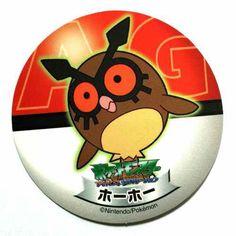 Pokemon 2006 Sapporo Ichiban Ramen AG Collection Series Hoothoot Sticker