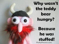 cute & clean kids joke for children featuring an adorable Viking :)