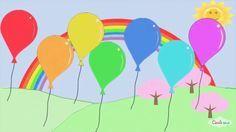 Μαθαίνω τα χρώματα  Παιδική   Εκπαίδευση  Greek Nursery Rhymes