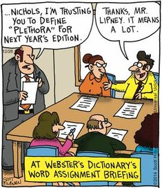 For the instances of puns in daily life. Writer Humor, Nerd Humor, Funny Cartoons, Funny Comics, Cartoon Humor, English Teacher Humor, English Jokes, Grammar Jokes, Garfield Comics