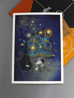 Letter to Van Gogh - Unposted Letters Art print