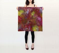 Essence, Sunrise - Silk Scarf, Small Square, 26x26