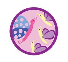 Junior Girl Scout Badge - Social Butterfly Badge. Have you ever found yourself in a group or place where you didn't know how to act? It happens to everyone. In this badge, have fun practicing the social style and good manners that will make you comfortable in any situation!