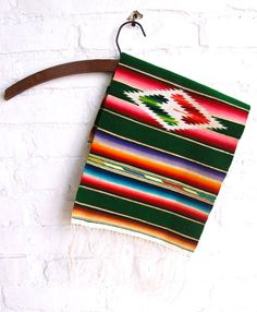 Vintage Mexican Serape Saltillo Silk Eye by AdobeHouseVintage, $48.00