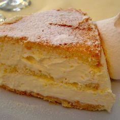 Layered Torta Di Zabaglione (From Scratch <3)