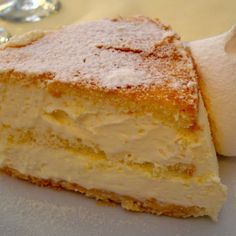 . Layered Torta Di Zabaglione Recipe from Grandmothers Kitchen.
