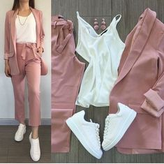 From work dresses and skirts to jackets and pants, you'll find stylish work outfits with these profe Teenager Fashion Trends, Teen Fashion Outfits, Mode Outfits, Look Fashion, Chic Outfits, Korean Fashion, Fall Outfits, Womens Fashion, Stylish Work Outfits