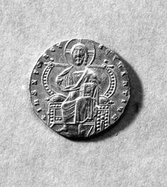 Gold Coin (Solidus) of Constantine VII and Romanus I 919-944 (Medieval)