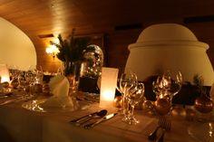 Golden Times - Christmas table - Weihnachtsfeier im Seehaus, Riessersee Hotel Resort, Garmisch-Partenkirchen, Bayern - http://www.riessersee.com/