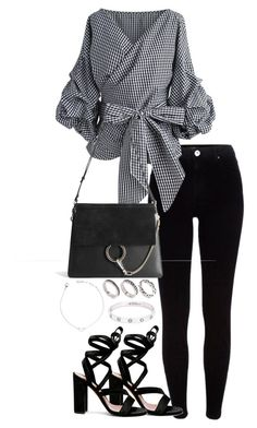 """Untitled #3837"" by theeuropeancloset on Polyvore featuring River Island, Chicwish, Chloé, Gianvito Rossi, ASOS and Cartier"