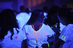 Highlighter tshirt party
