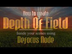 Blender - Depth Of Field - YouTube