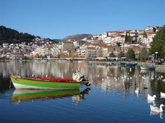 kastoria Most Beautiful Cities, Together We Can, Macedonia, Westerns, Natural Beauty, Greece, How To Memorize Things, Places To Visit, To Go