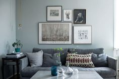 A Swedish apartment with old world charm