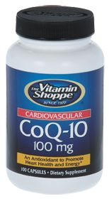 The ultimate fountain of youth (and energy supplement)! Vitamin Shoppe Coq 10 100 MG, 100.0 Each , Capsules #VitaminShoppe #contest