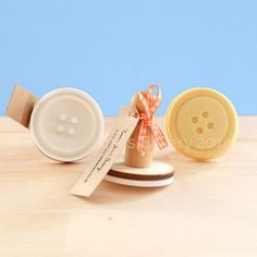 Image of Button cookie stamp - traditional