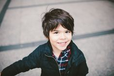 Boys hair cut. Maybe I can get Weilan to cut his crazy mop and go with a little style?