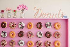 Wij willen een donut-muur op onze bruiloft! Jij ook?!