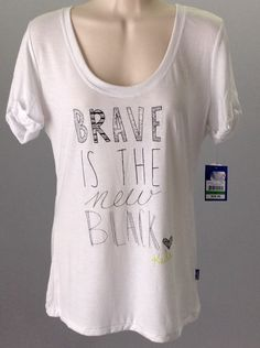 Brave is the new Black keds T-shirt