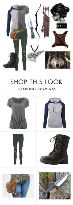 """The Maze Runner"" by silbacquerie ❤ liked on Polyvore featuring maurices, J Brand and Charlotte Russe"